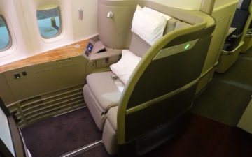 Cathay First Class 777 2