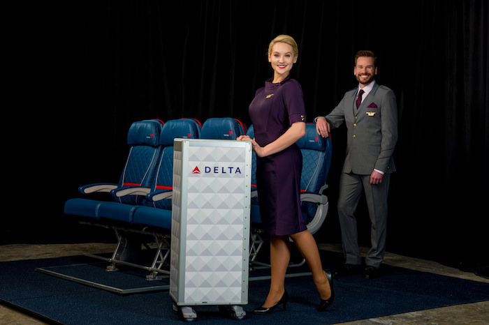 Delta's New Uniforms Are... Purple! - One Mile at a Time
