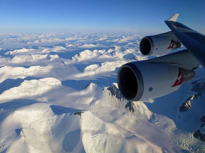 Your Opportunity To Flightsee Around Antarctica On Qantas