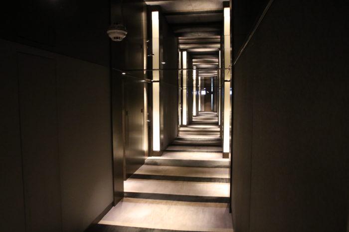 The corridors on my floor.