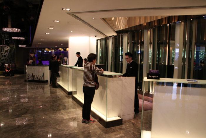 Mira Hotel Check-in Desks
