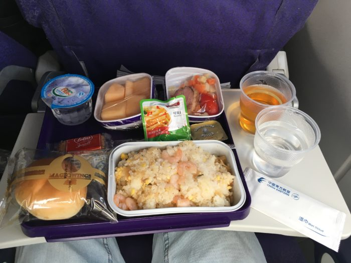 Shanghai Airlines meal
