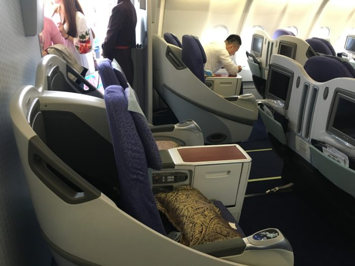 Shanghai Airlines Business class 2