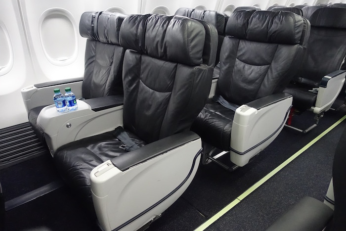What s Alaska Airlines First Class Like e Mile at a Time