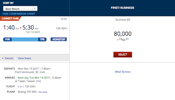 Is 747 A Good Credit Score >> China-Airlines-Awards-2 - One Mile at a Time