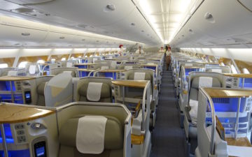 Emirates A380 Business Class 1