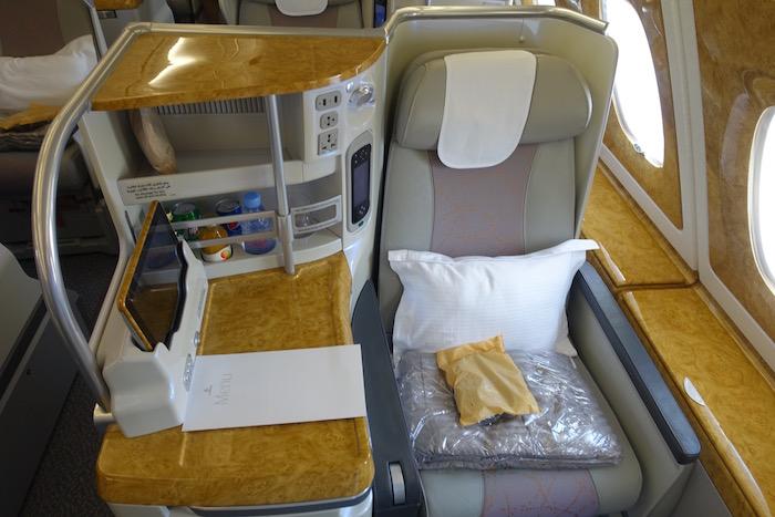 TripReport Mit Emirates in der Business Class nach Down