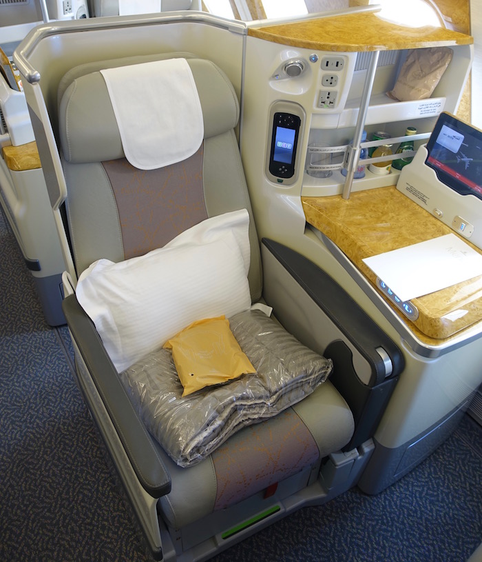 What S The Best Emirates A380 Business Class Seat One Mile At A Time