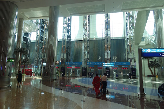 Emirates Business Lounge Dubai Review I One Mile At A Time