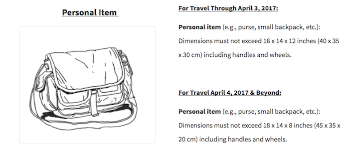 Spirit Airlines Shrinks Their Free Carry-On Allowance Even Further ... f581578477f3e