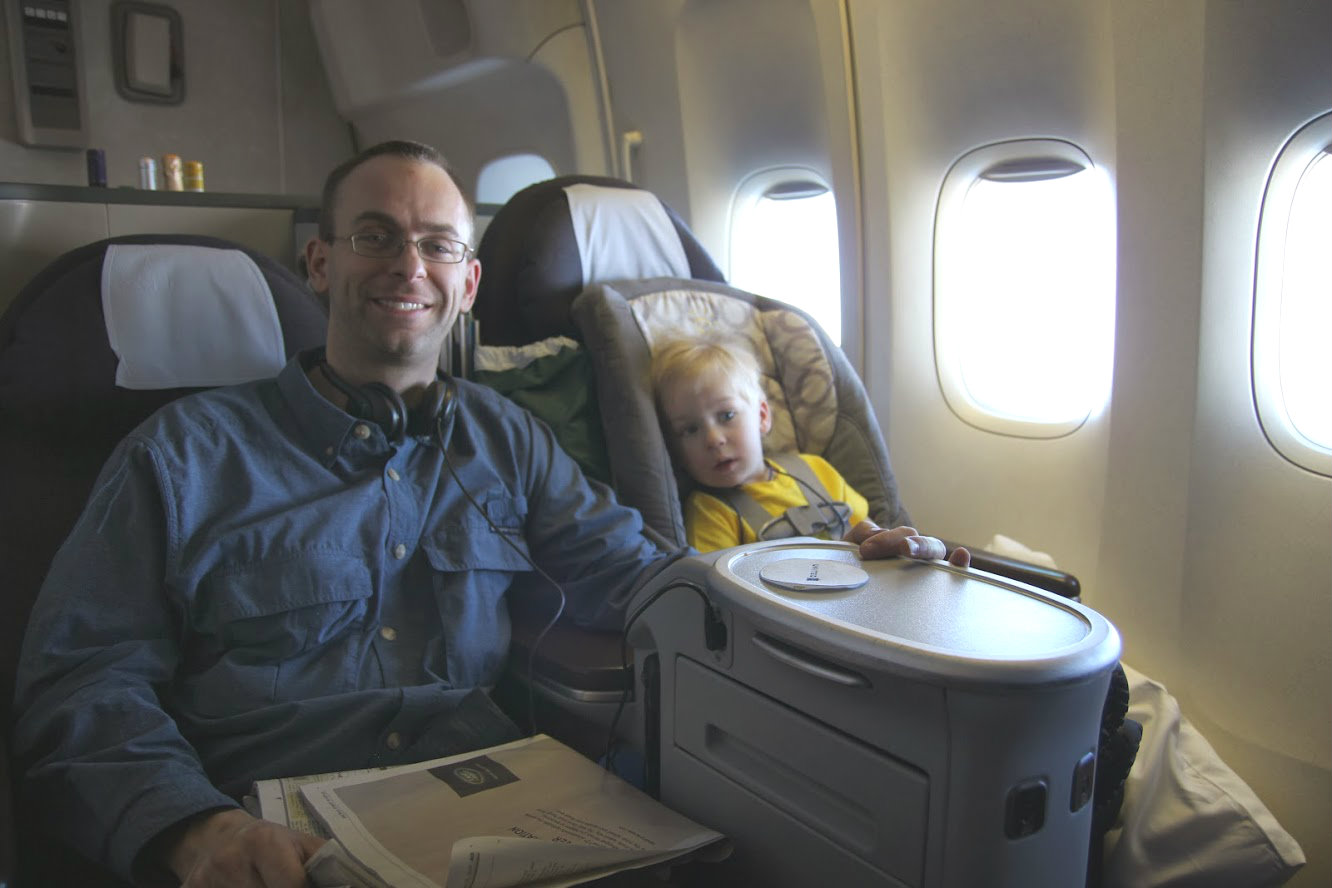 Can Kids Fly In First Class One Mile At A Time