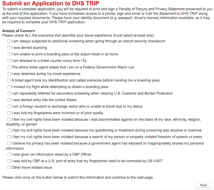 DHS-Trip