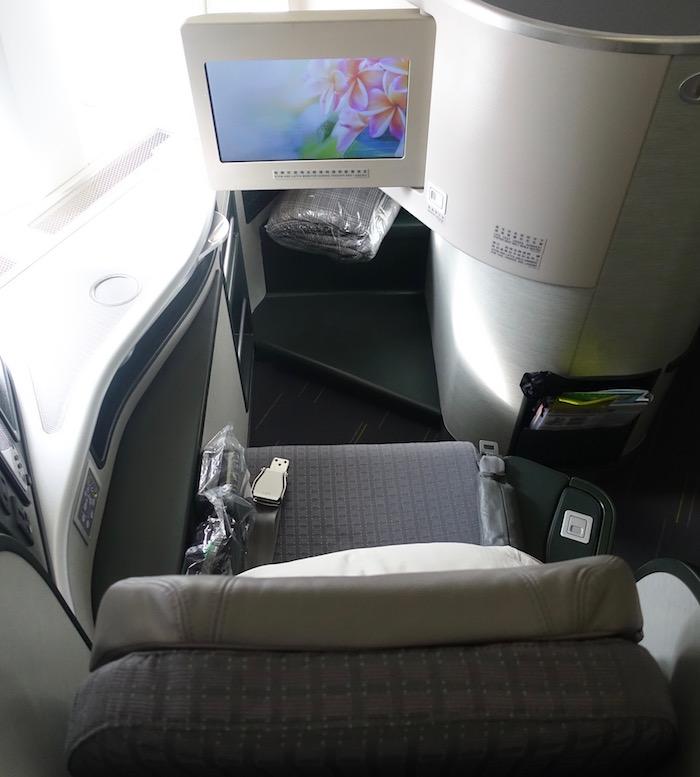 Review Eva Air Business Class 777 Los Angeles To Taipei