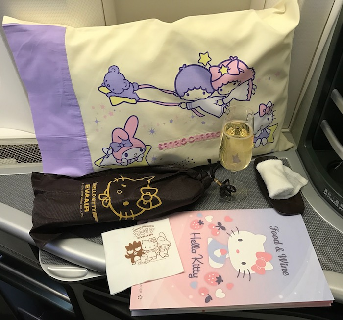 EVA Air Is Shifting Hello Kitty Flights From Houston To ...
