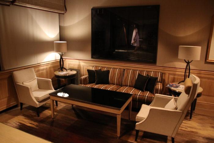 Frankfurt VIP services main lounge area