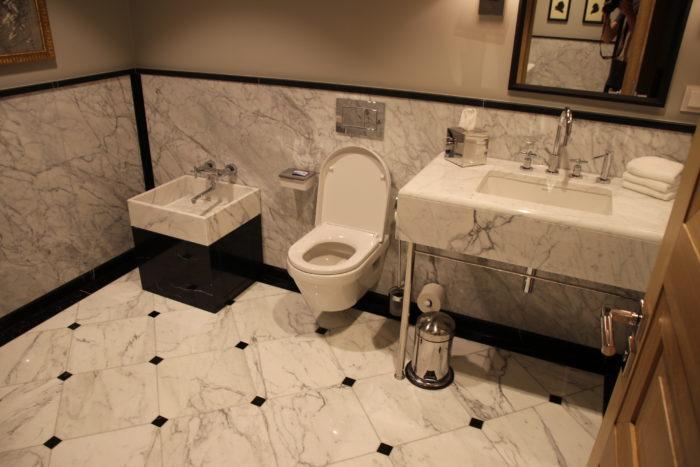 Frankfurt Airport VIP lounge restrooms