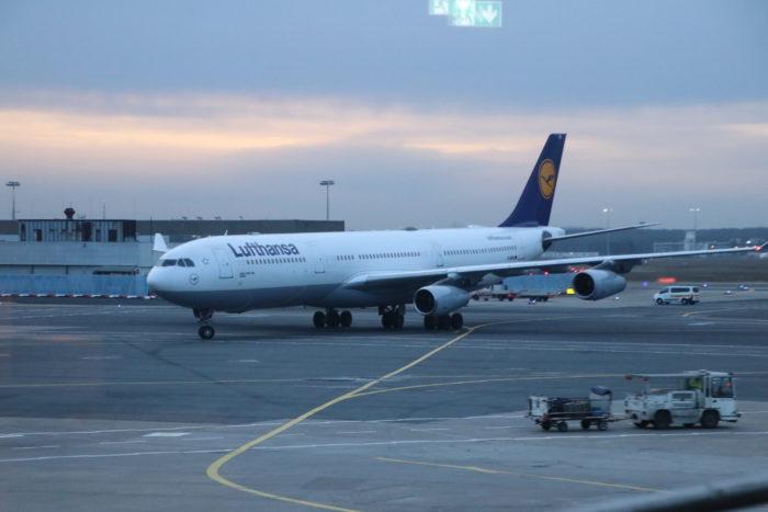 Frankfurt Airport VIP services view