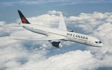 New Air Canada Livery