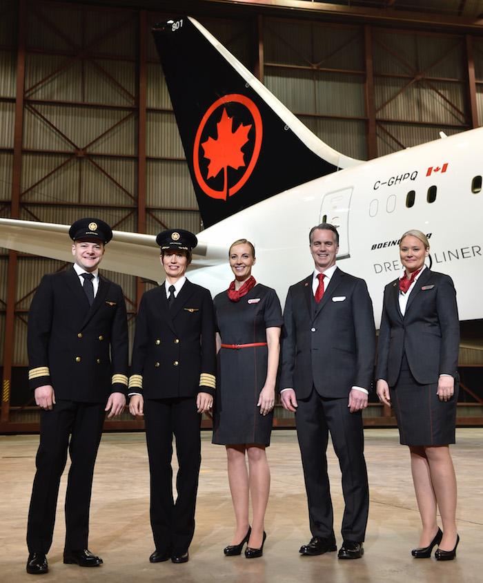 New-Air-Canada-Uniforms