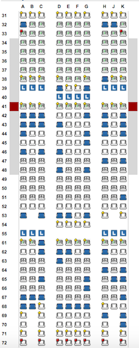 Philippine-Airlines-Seatmap