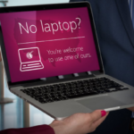 Qatar Airways Laptop Loaner