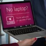 Qatar Airways Laptop Loaner