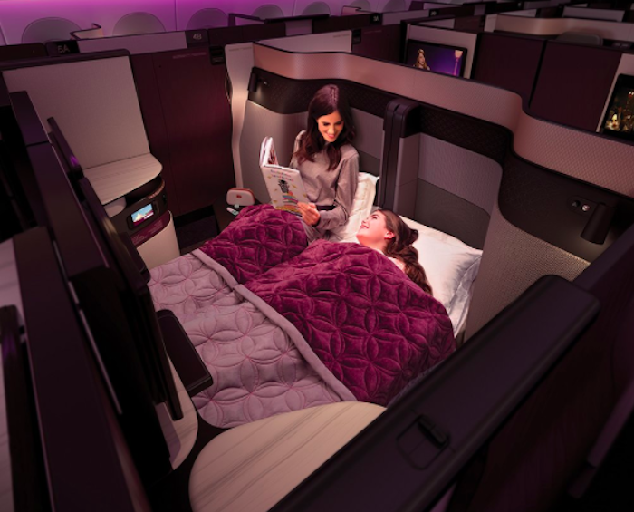 my thoughts on qatar airways new business class qsuite