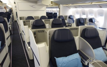 Kuwait Airways 777 Business Class – 1