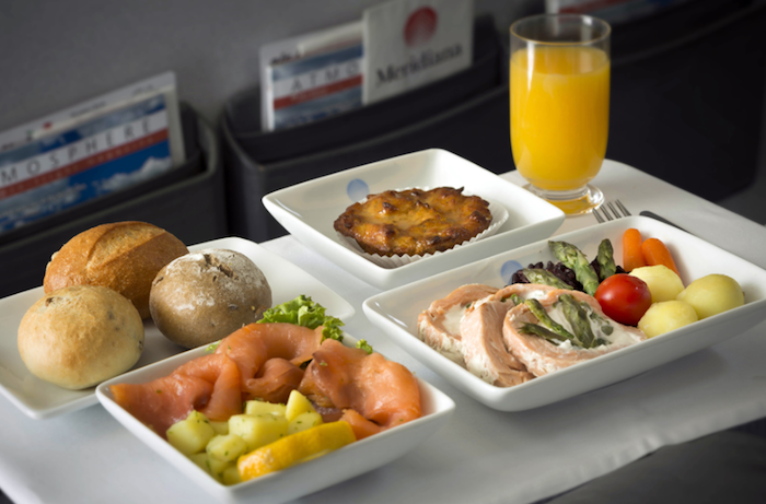 MeridianaBusinessClass One Mile At A Time - Cuisine meridiana