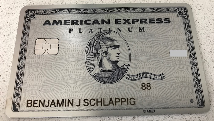 I Received My Metal Amex Platinum Card One Mile At A Time