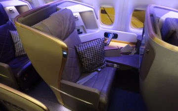 Singapore 777 Business Class – 5