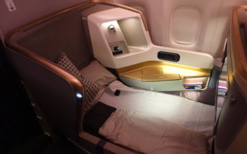 Review: Singapore Airlines Business Class 777-300ER Hong Kong To San ...