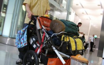 7c7883fe3 How To Fly With A Stroller In The United States - One Mile at a Time