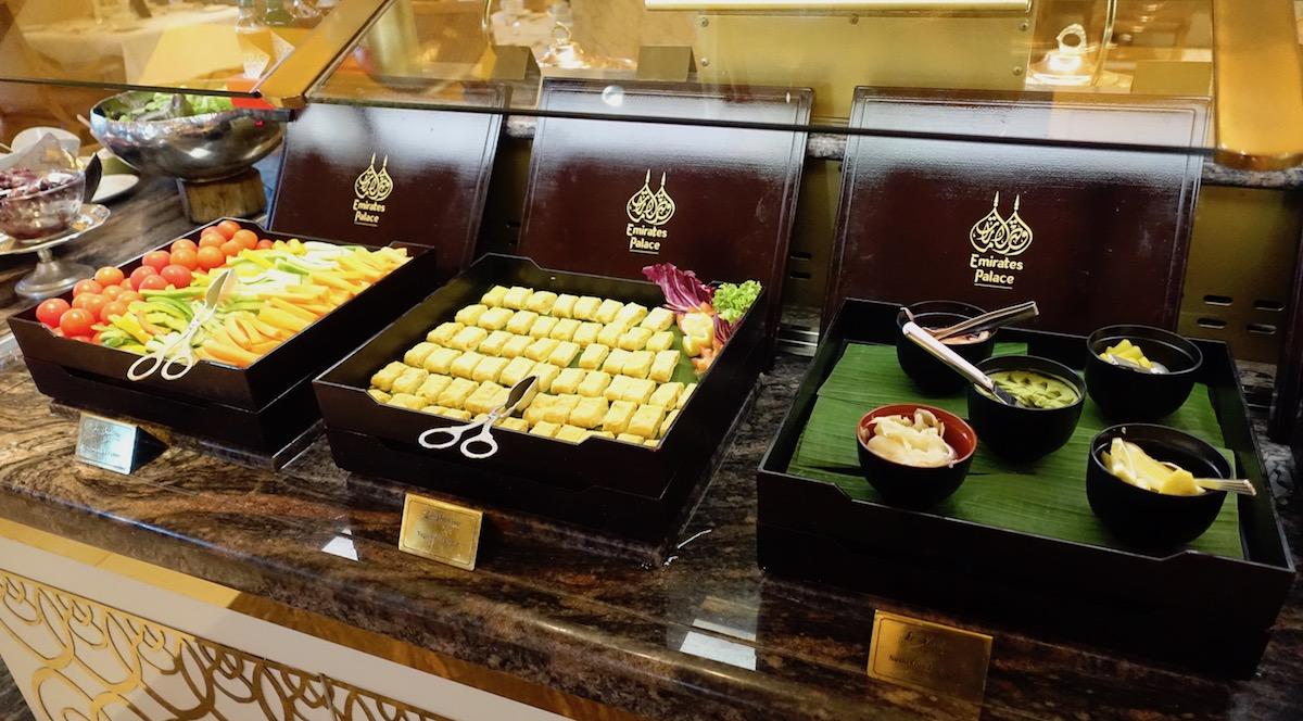 Emirates Palace Abu Dhabi Breakfast Buffet