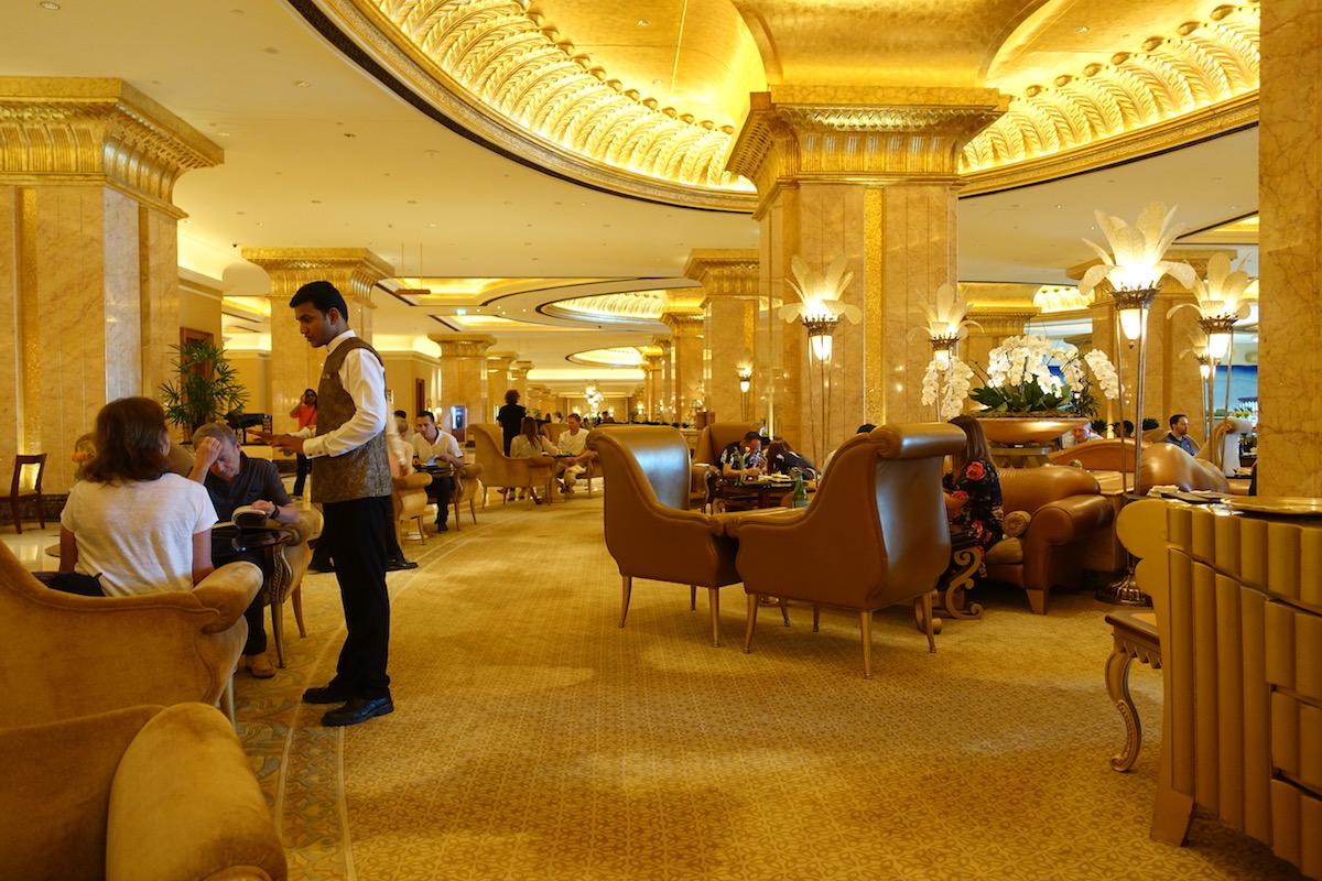 Emirates Palace Abu Dhabi Lobby Lounge