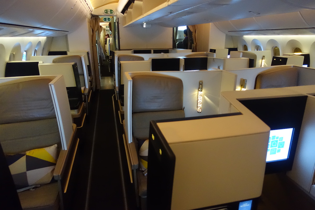 Etihad Business Class 787 2 One Mile At A Time