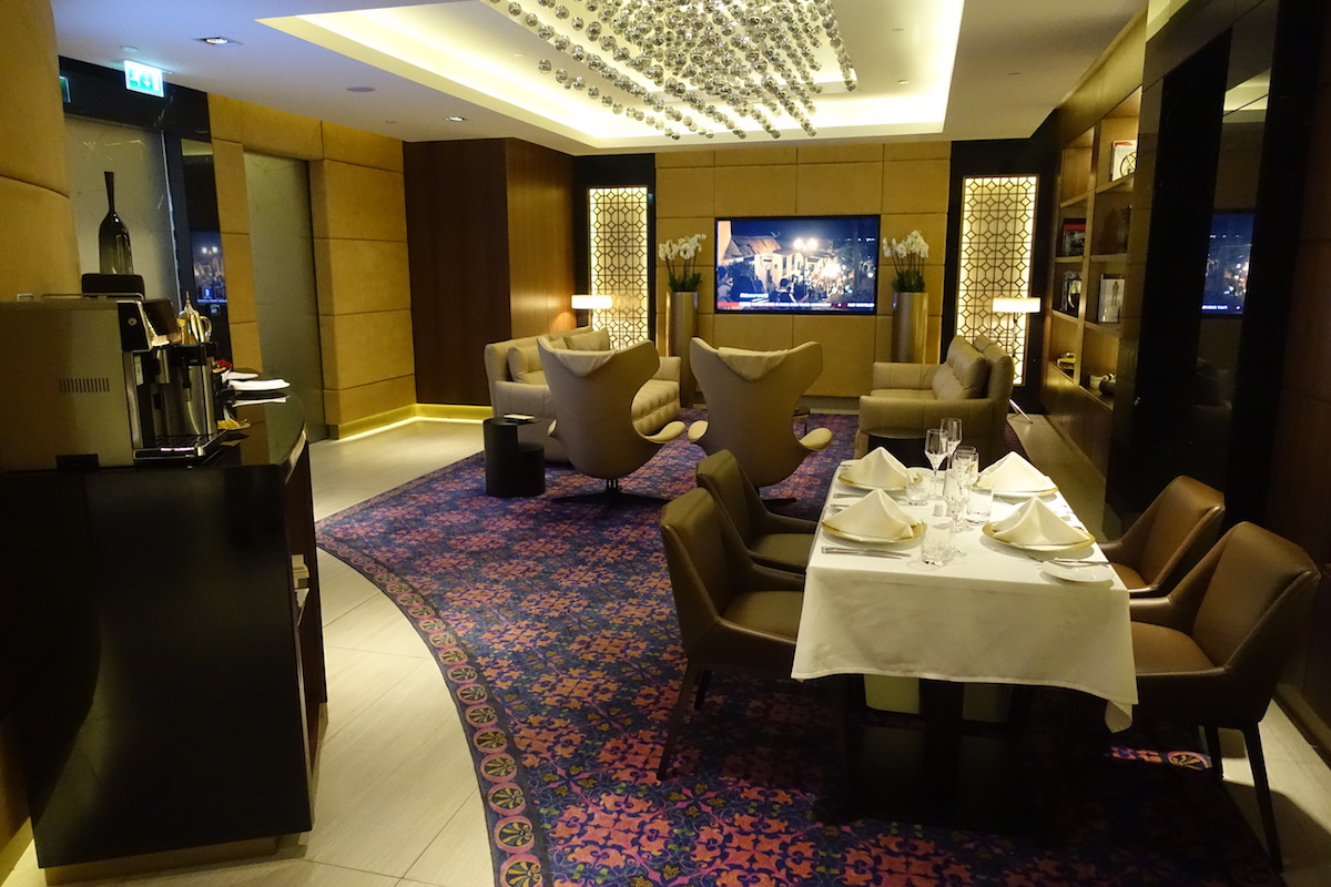 Review Etihad Residence Lounge Abu Dhabi Airport One