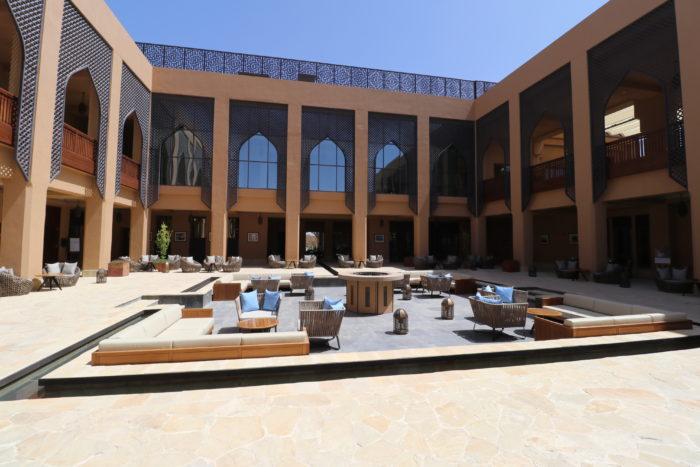 Anantara Al Jabal Al Akhdar courtyard
