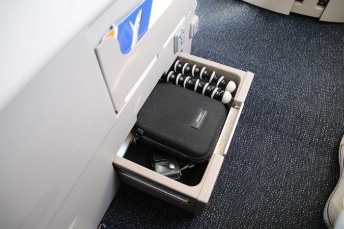 British Airways Club World Storage Drawer