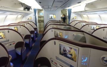 Air Serbia Business Class – 2
