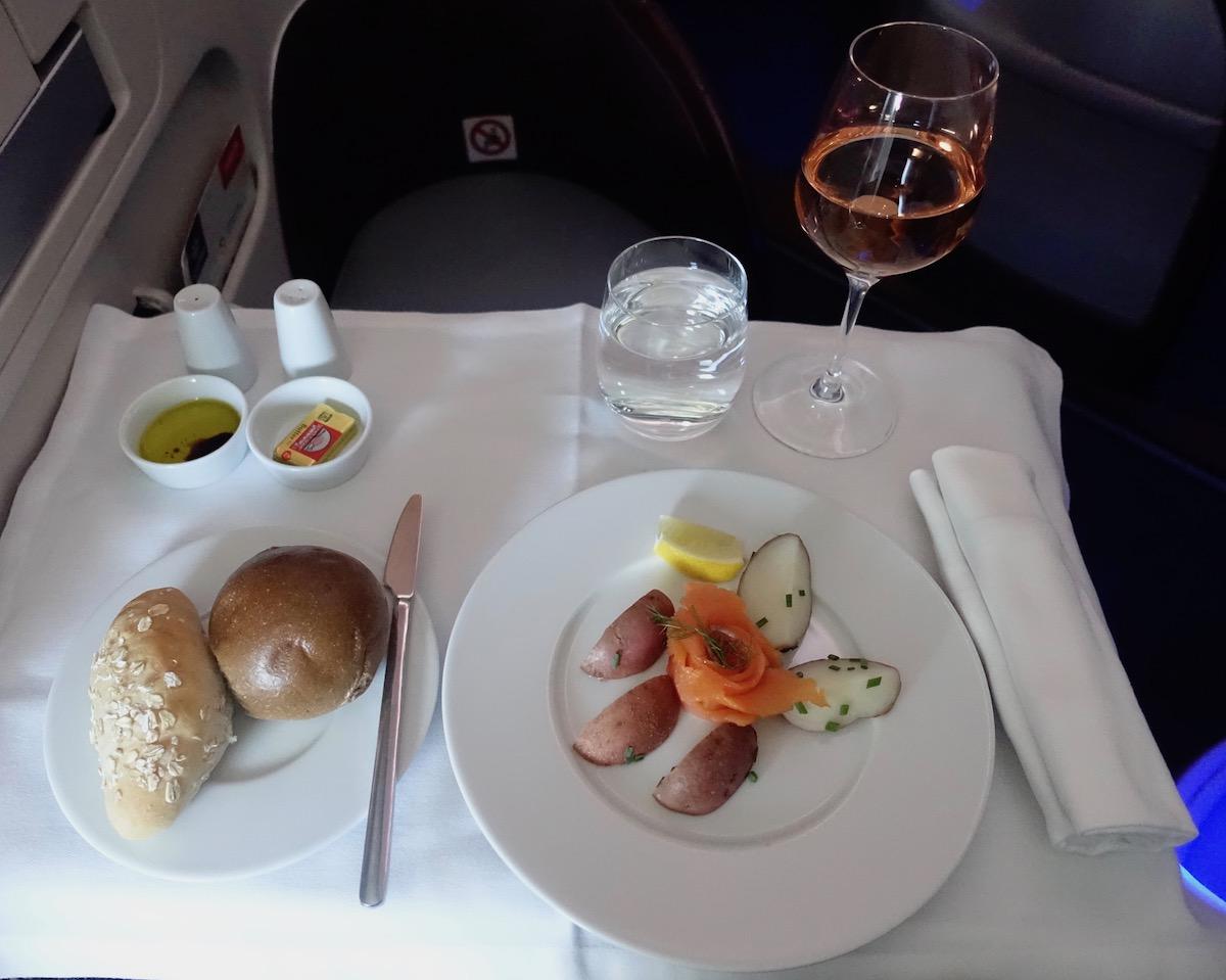 Air Serbia Business Class 22