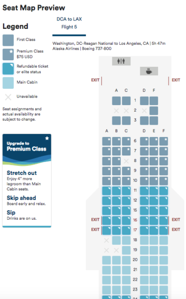 What Is Going On With Alaska Airlines\' Premium Class? | One Mile at ...