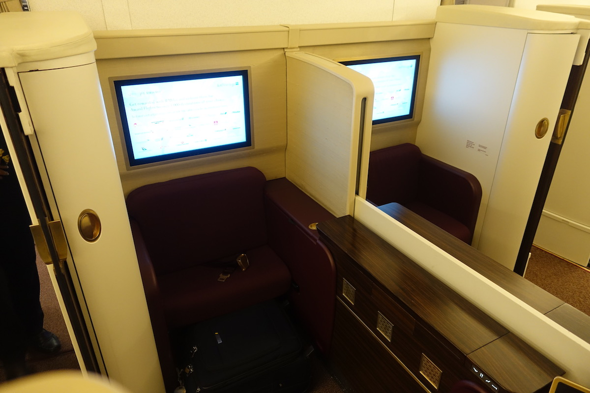 Jet-Airways-First-Class-777 - 12 - One Mile at a Time
