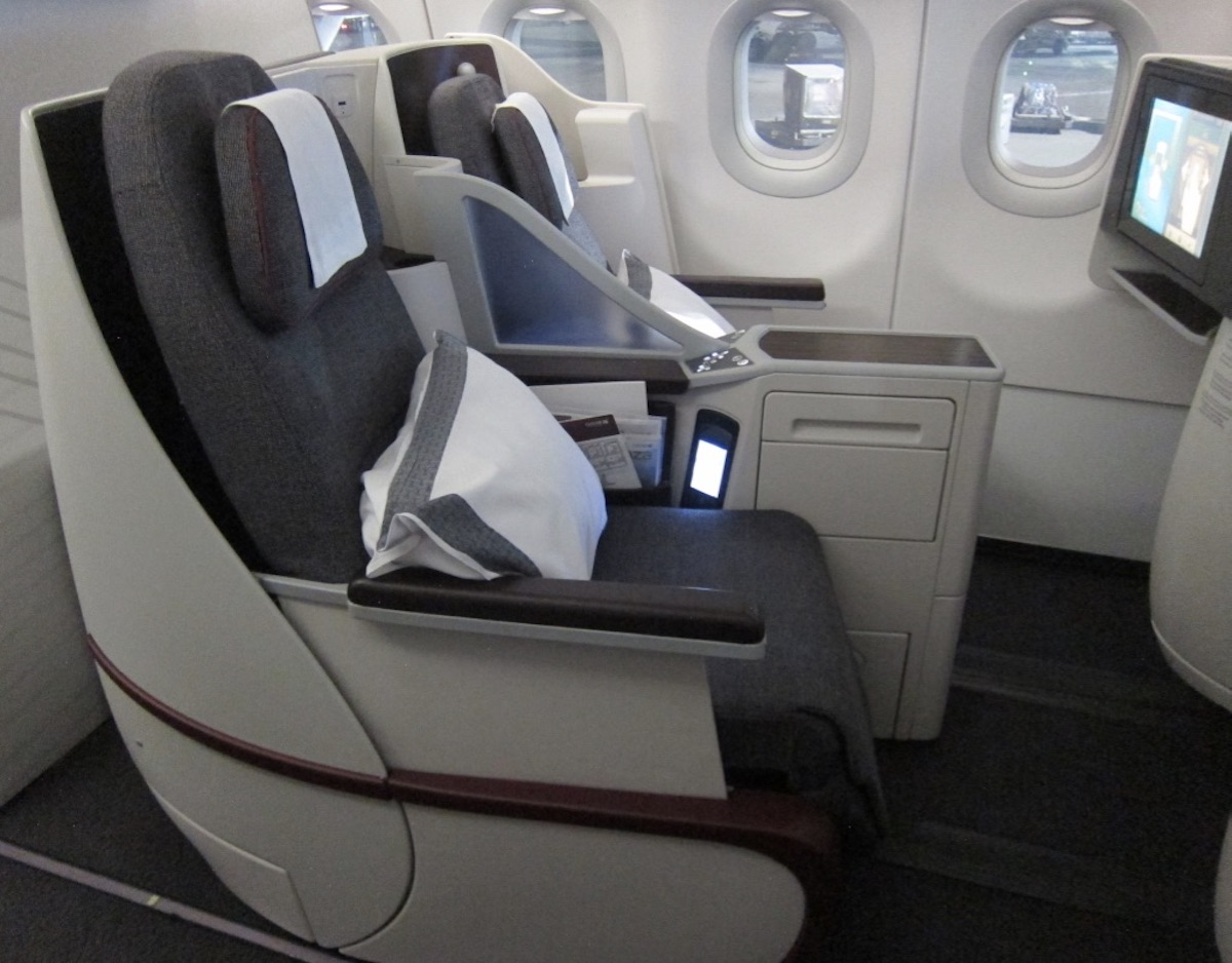 Qatar Airways A320 Business Class One Mile At A Time