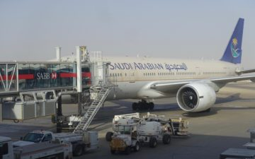 Saudia Lounge Riyadh Airport – 46