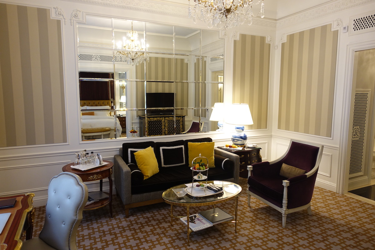 The St Regis New York Added A Destination Charge And I Sort Of