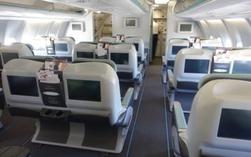 Tunisair A330 Business Class – 2