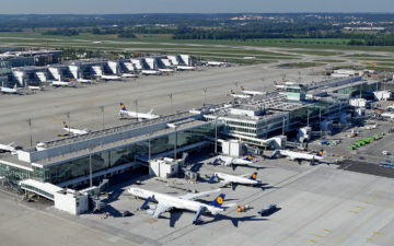Munich Airport Satellite Terminal