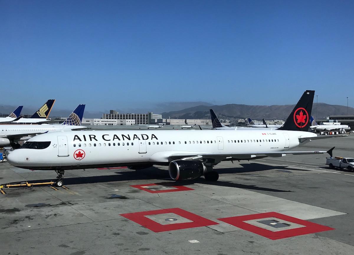 Ouch: An Air Canada A320 Had An Incident At SFO... Again ...
