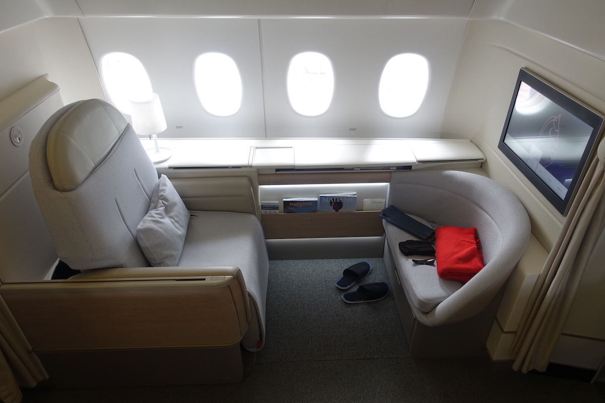 Review Air France First Class 777 300er Paris To Houston One Mile At A Time